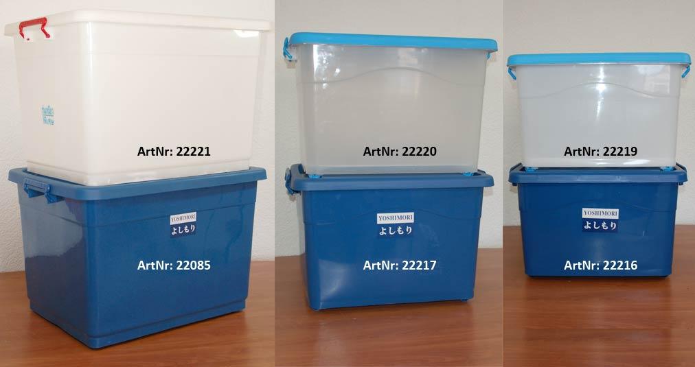 AufbewahrungsTONNE 4 x 66 L Futterbox Futtertonne Allzweckbox