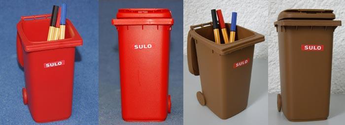 Pot crayons bo te bonbons poubelle miniature jouet bureau d coration table - Fabricant maison container ...