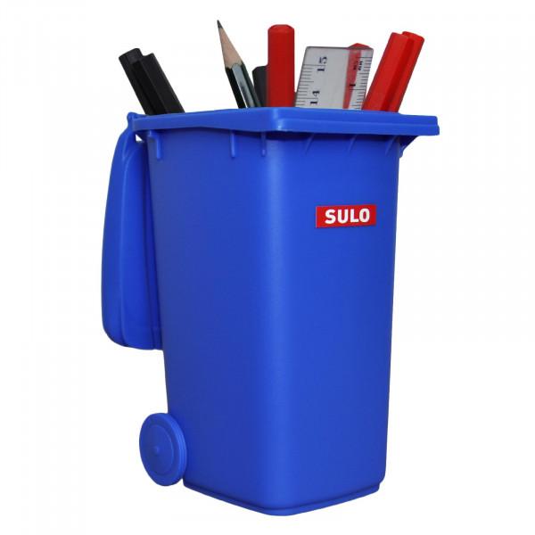 Mini Müllbehälter 240Liter blau