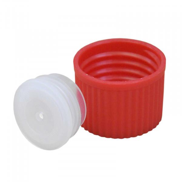 Deckel mit Spritzeinsatz DIN25 Enghalsflasche