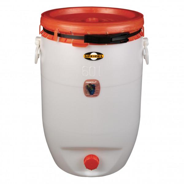 Mostfass 60 Liter rund