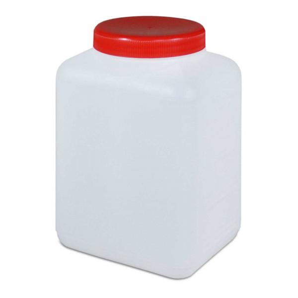 Vierkantflasche 1500ml inkl. Schraubverschluss