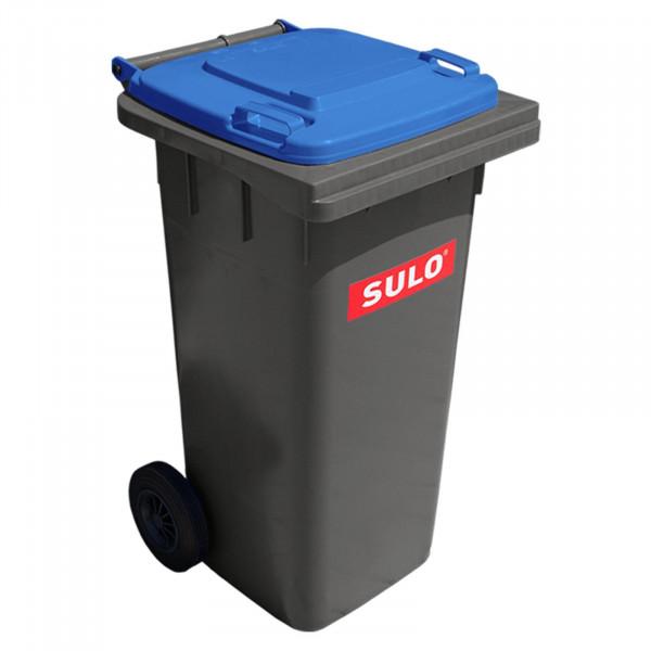 Sulo 2 Rad Behältersysteme MGB 120 grau mit Deckel blau