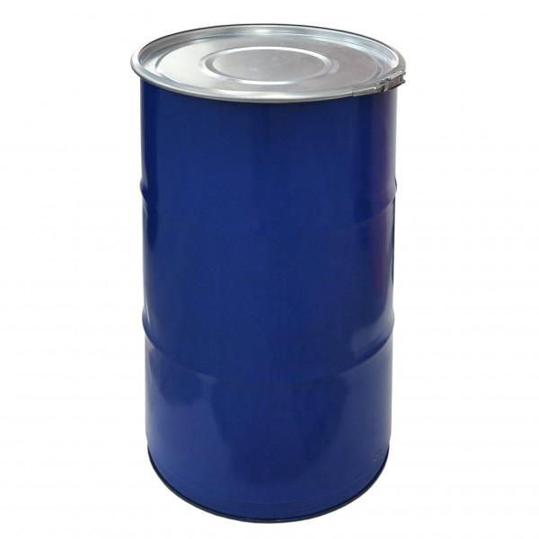 Deckelfass 120 Liter blau