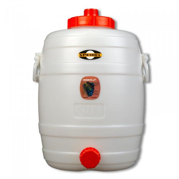 Mostfass 30 Liter rund
