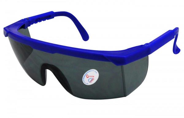 Schutzbrille getönt blau