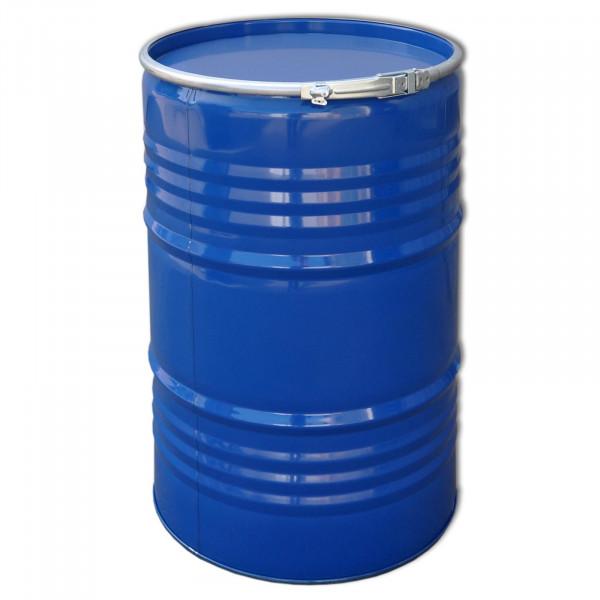 Deckelfass 213 Liter blau