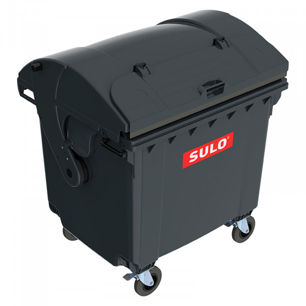 Sulo MGB 1100 mit Runddeckel und Deckel im Deckel grau Container Müllbehälter