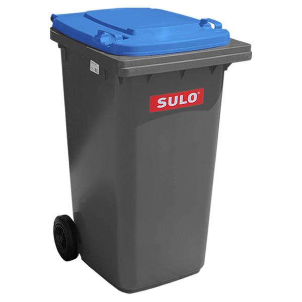 Sulo 2 Rad Behältersysteme MGB 240 grau mit blau Deckel