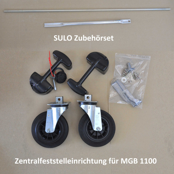 Zentralfeststelleinrichtung für Sulo MGB 1100