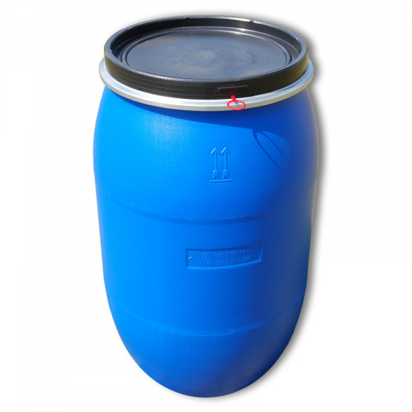 60-litre lidded drum with UN and FDA approval