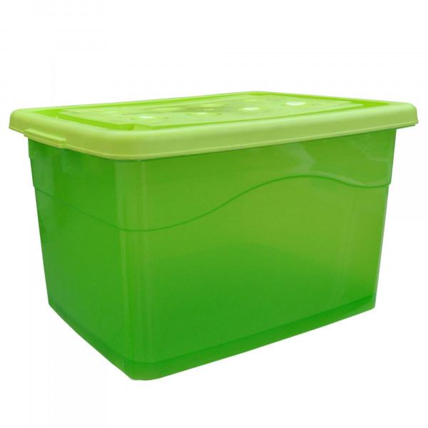 Rollenbox 40 Liter grün