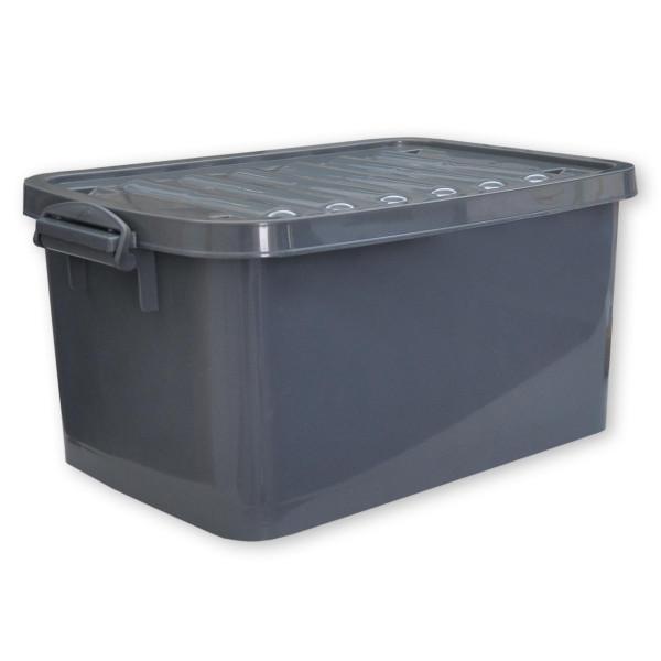 Rollenbox 45 Liter grau