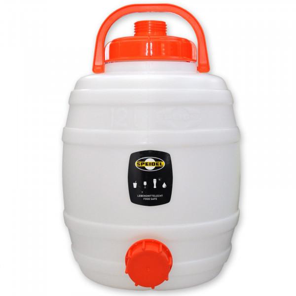Mostfass 12 Liter rund