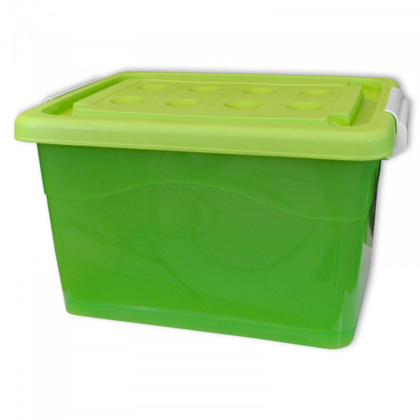 Rollenbox 60 Liter grün