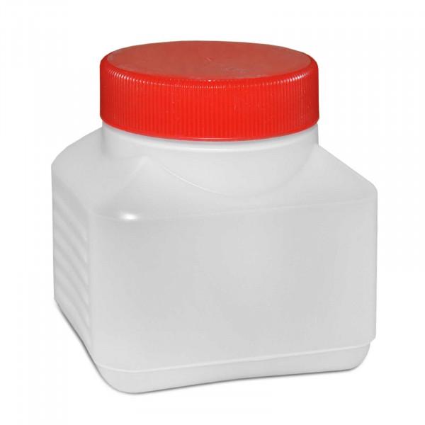 Vierkantflasche 250ml inkl. Schraubverschluss
