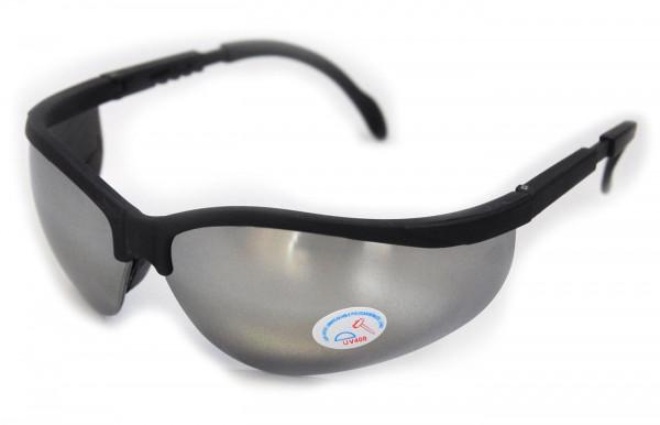 Schutzbrille verspiegelt