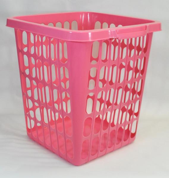 Wäschekorb 40 Liter rosa