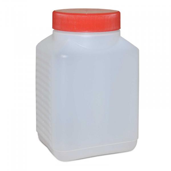 Vierkantflasche 500ml inkl. Schraubverschluss