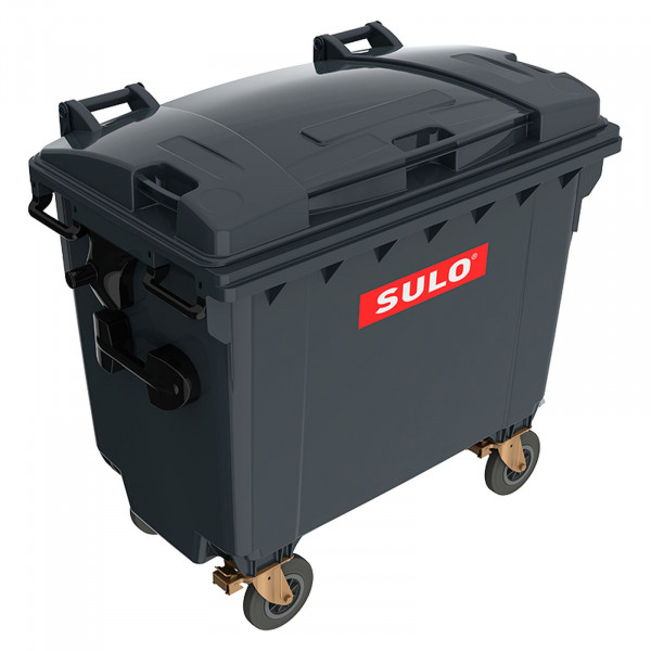Sulo MGB 660 mit Flachdeckel