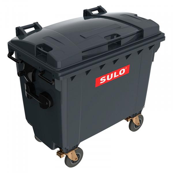 Sulo MGB 660 mit Flachdeckel grau Container Müll