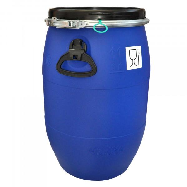 Deckelfass 60 Liter mit UN- und FDA-Zulassung