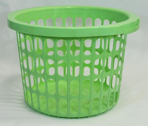 Wäschekorb in grün