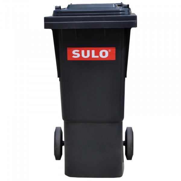 Sulo Müllbehälter MGB 80 grau mit Deckel rot / grün / blau / braun / gelb / **grau** / orange