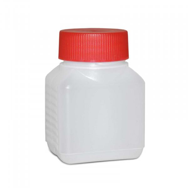 Vierkantflasche 100ml inkl. Schraubverschluss