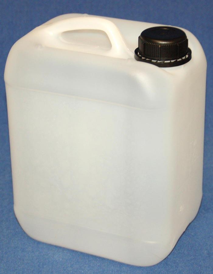 Fantastisch 5 Liter Kanister in der Farbe Natur-Weiß mit Griff und Verschluss RW27