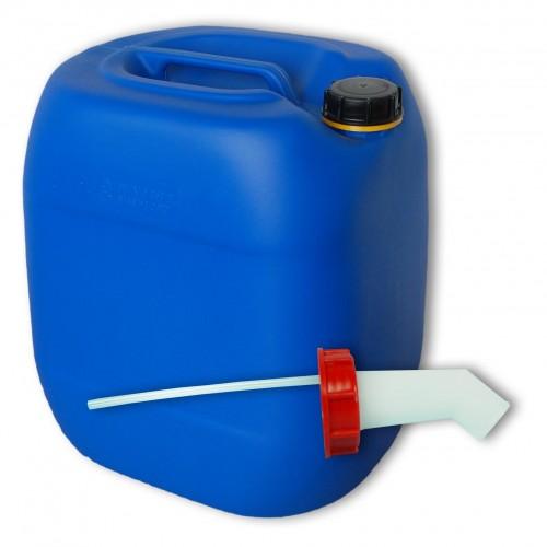 30 liter kanister blau schnellausgie er dn61. Black Bedroom Furniture Sets. Home Design Ideas