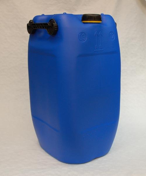 60 liter kanister mit 3 griffen blau aft hahn din71. Black Bedroom Furniture Sets. Home Design Ideas
