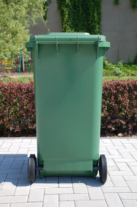 Sulo 2 wheeled container systems mgb 240l green - Garden waste containers ...