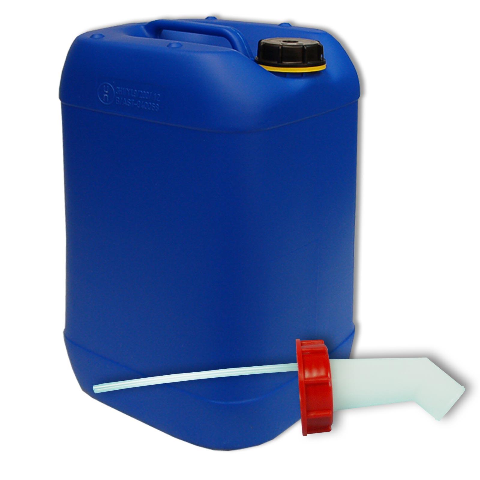 25 liter kanister blau schnellausgie er din61. Black Bedroom Furniture Sets. Home Design Ideas