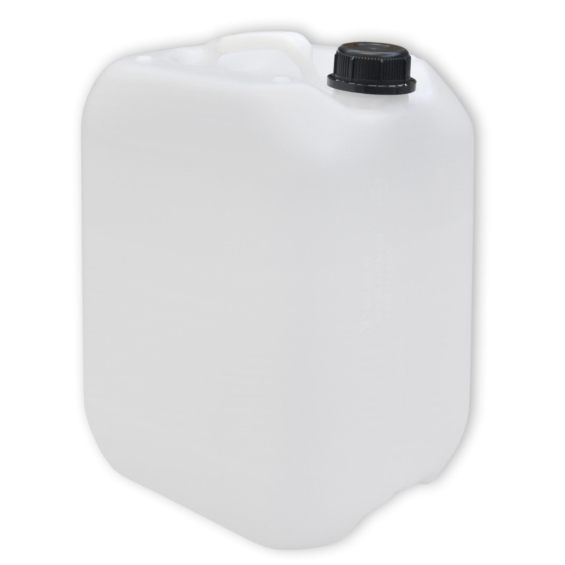 9 Stück 10 L gebrauchte Kanister Farbe natur Camping Plastekanister DIN45