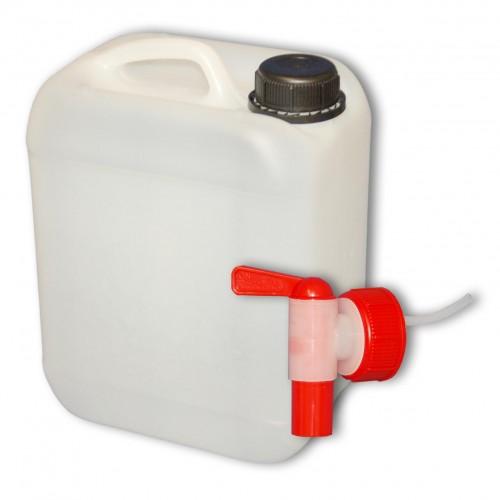5 l wasserkanister kanister mit deckel aus plastik zapfhahn 1x22004 1x22039 ebay. Black Bedroom Furniture Sets. Home Design Ideas