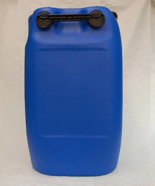 60 liter kanister plastekanister blau 3 griffe tank. Black Bedroom Furniture Sets. Home Design Ideas