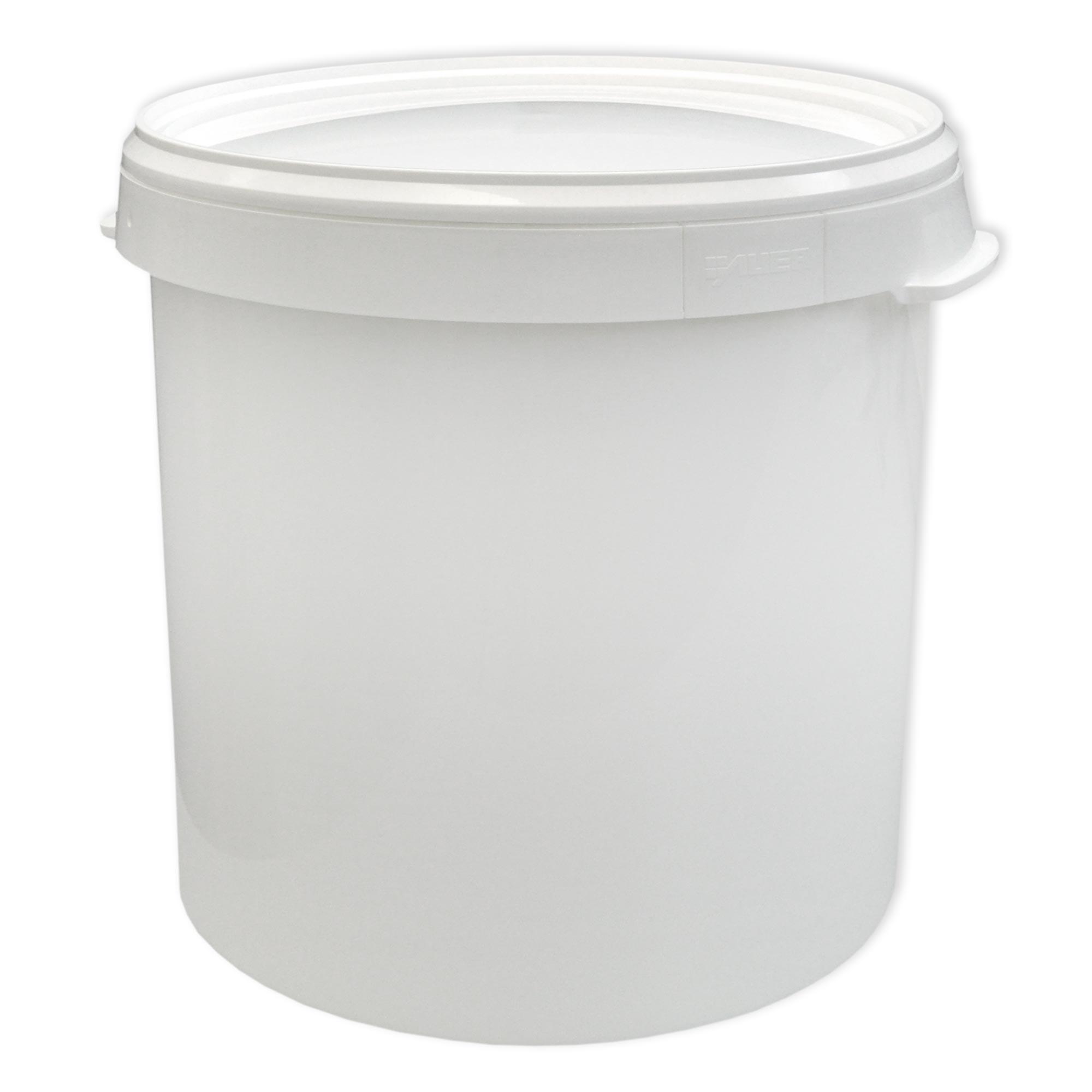 eimer mit deckel 5 10 20 30 liter hobbock plastikeimer lebensmittelecht neuware ebay. Black Bedroom Furniture Sets. Home Design Ideas