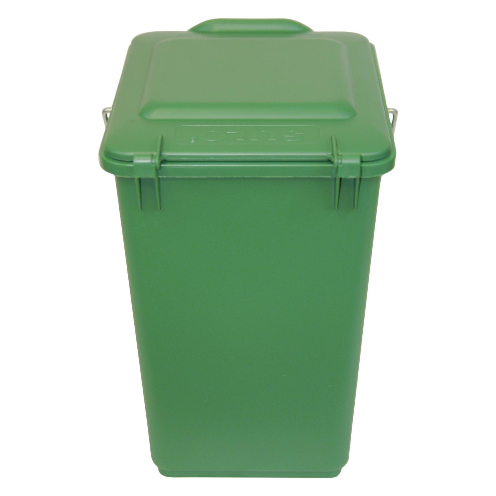 6 stück kompostbehälter sulo bio-boy grün mini biotonne garten