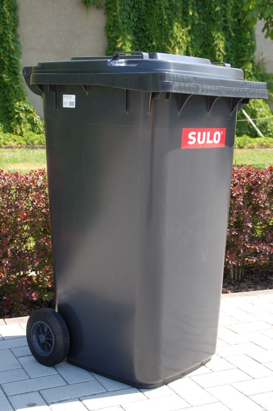 120 l dustbin sulo wheelie bin recycling household. Black Bedroom Furniture Sets. Home Design Ideas