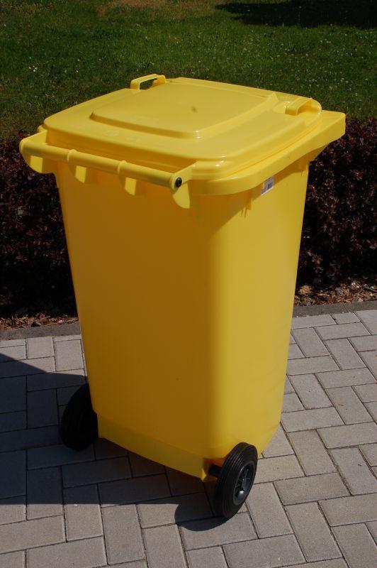 sulo m lltonne 240 liter gelb m llbox m llbeh lter plastem llbeh lter 22067 ebay. Black Bedroom Furniture Sets. Home Design Ideas