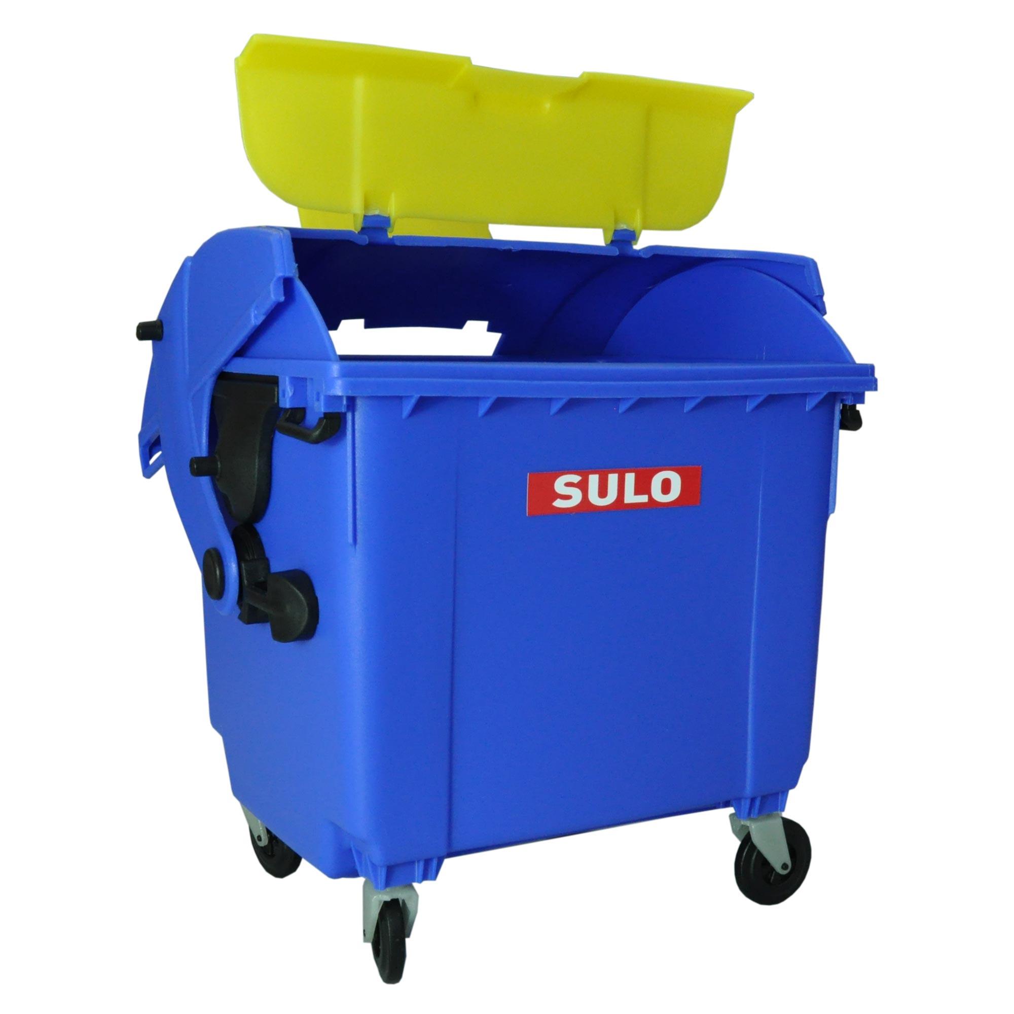2x mini container sulo 1100 l bleu pot crayons vide poche jouet 2x22103 - Fabricant maison container ...