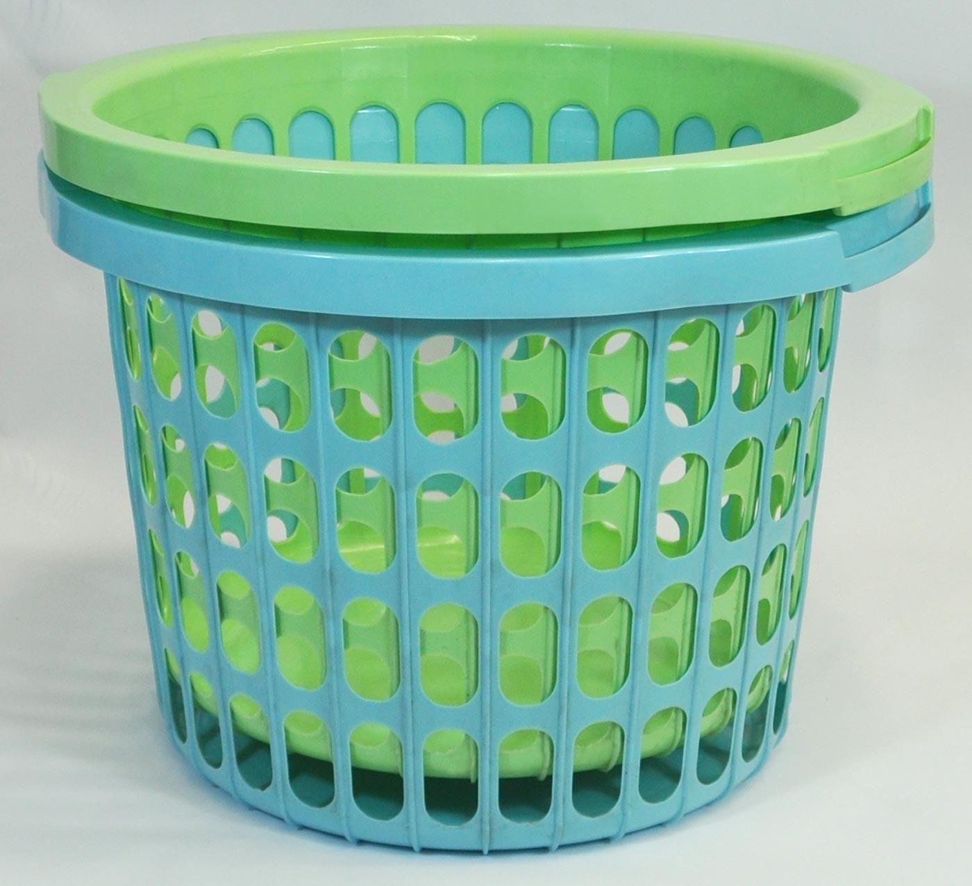 Sammelbehälter Wäschekorb Wäschesammler Wäschebehälter Korb Plastik Aufbewahrung eBay